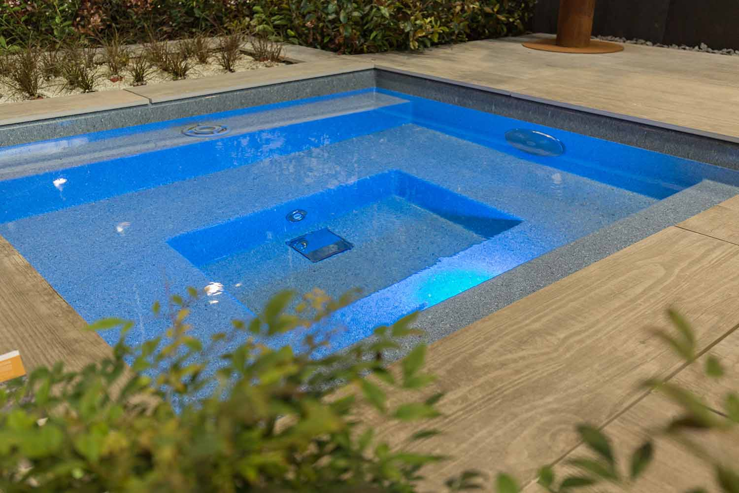 Mini pools schwimmb der michael wagner - Mini pool terrasse ...